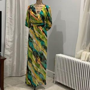 Bisou Bisou bold print dress size 14